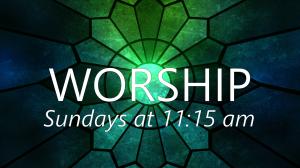 11:15 Sunday Service