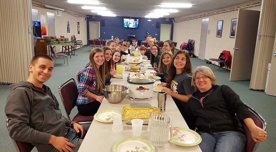 youth turkey dinner